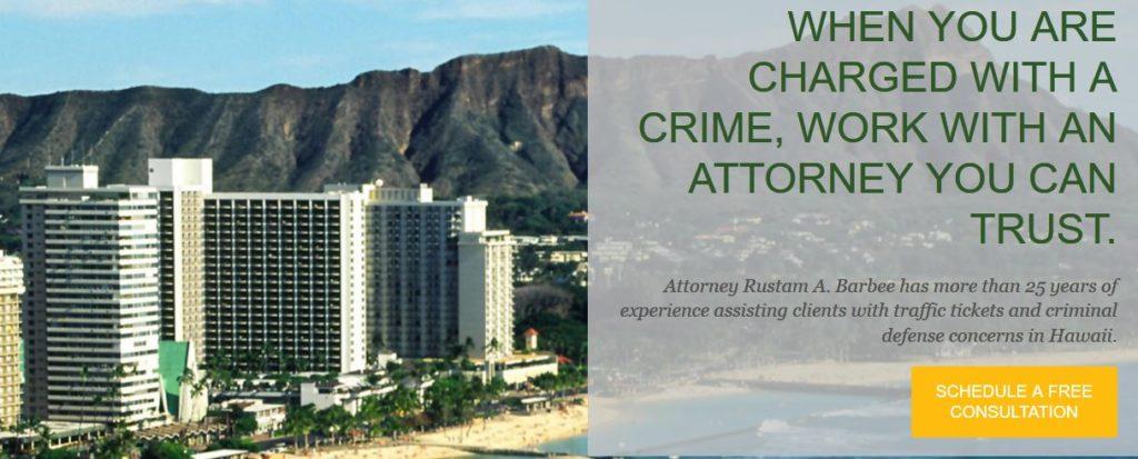 Attorney Rustam A. Barbee