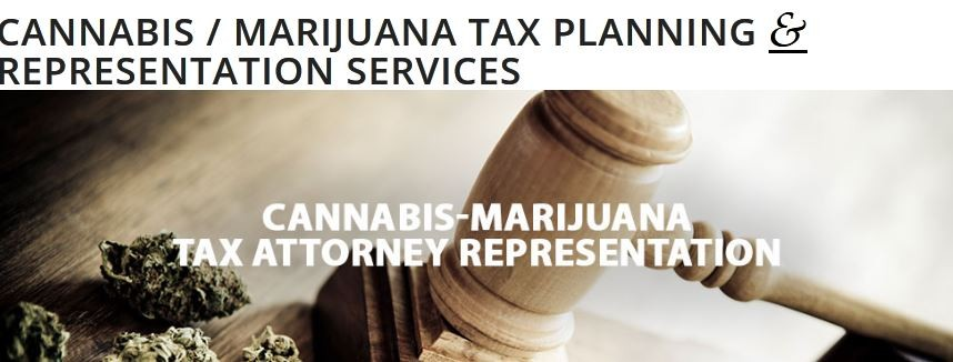 Cannabis / Marijuana Tax Services