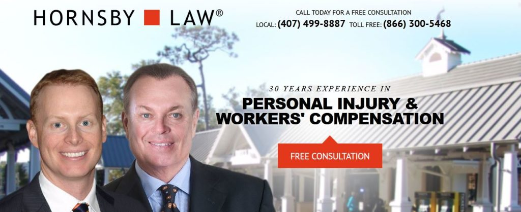 Hornsby law, orlando personal injury