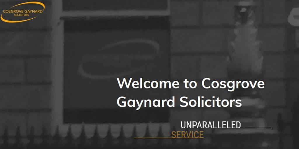 Cosgrove Gaynard Solicitors Dublin