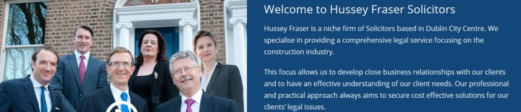 Dublin construction industry lawyers
