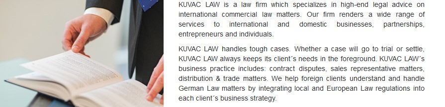 Business lawyers in Germany
